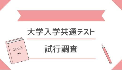 大学入学共通テスト、プレテスト(試行調査)問題【平成29年・平成30年】